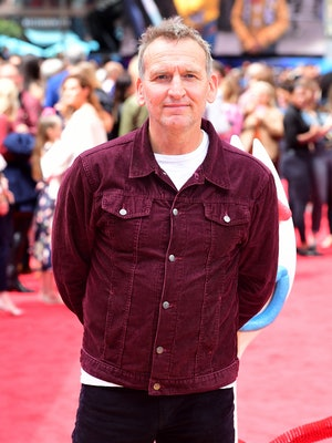 Christopher Ecclestone attending the Toy Story 4 Premiere at Odeon Luxe, Leicester Square, London. (...