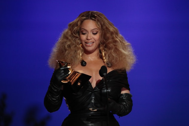 Los Angeles, CA, Sunday, March 14, 2021 - Beyonce makes History with the Best E&B Performance winnin...