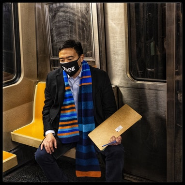 NEW YORK, NY - MARCH 3: (EDITOR'S NOTE: Image processed using a digital filter) New York City mayora...