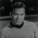 William Shatner portrays Captain James T. Kirk, captain of the starship Enterprise on the TV series ...