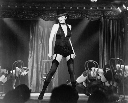 American actress and singer Liza Minnelli as Sally Bowles in the film 'Cabaret', 1972.  (Photo by Si...