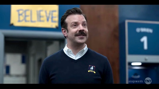 Jason Sudeikis' 5-year-old  daughter, Daisy, shaved off his famous Ted Lasso mustache.