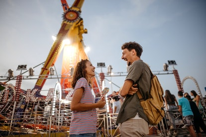 Going to a carnival is a great date idea for Aries Moons.