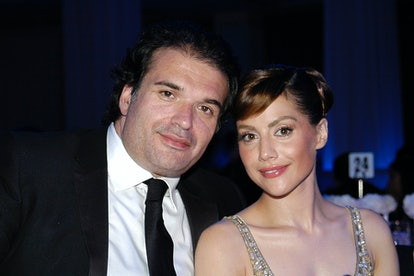 Simon Monjack and Brittany Murphy attend 2007 Award of Hope Gala.