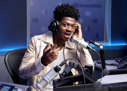 Lil Nas X visits Sirius XM studios in September, shortly before sharing details of his relationship ...