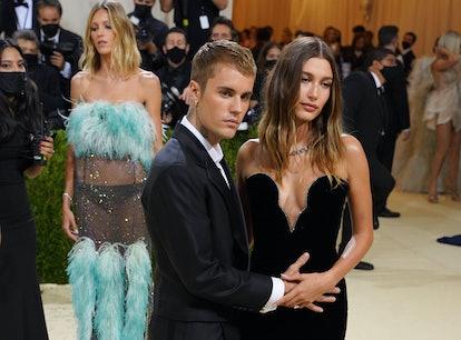 Justin Bieber and Hailey Baldwin spark pregnancy rumors at the Met Gala.