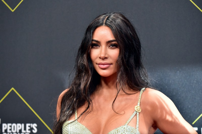 SANTA MONICA, CALIFORNIA - NOVEMBER 10: Kim Kardashian attends the 2019 E! People's Choice Awards at...