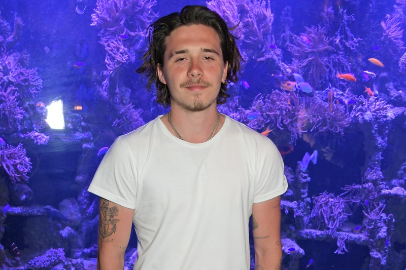 Brooklyn Beckham attends the launch of Wonderland Magazine's Summer 2019 issue at Sexy Fish