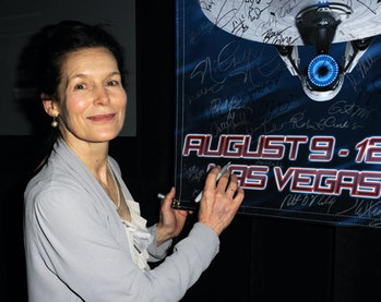 LAS VEGAS, NV - AUGUST 12:  Actress Alice Krige  participates in the 11th Annual Official Star Trek ...