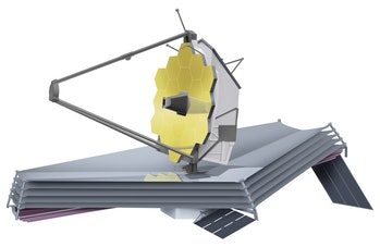 James Webb Space Telescope, Large infrared space telescope set to be launched in 2018. Its principal...