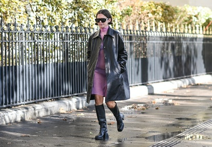 Marta Cygan sheer dress