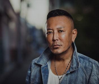 TOKYO, JAPAN - JULY 19: Portrait of Japanese video game developer Toshihiro Nagoshi, chief creative ...