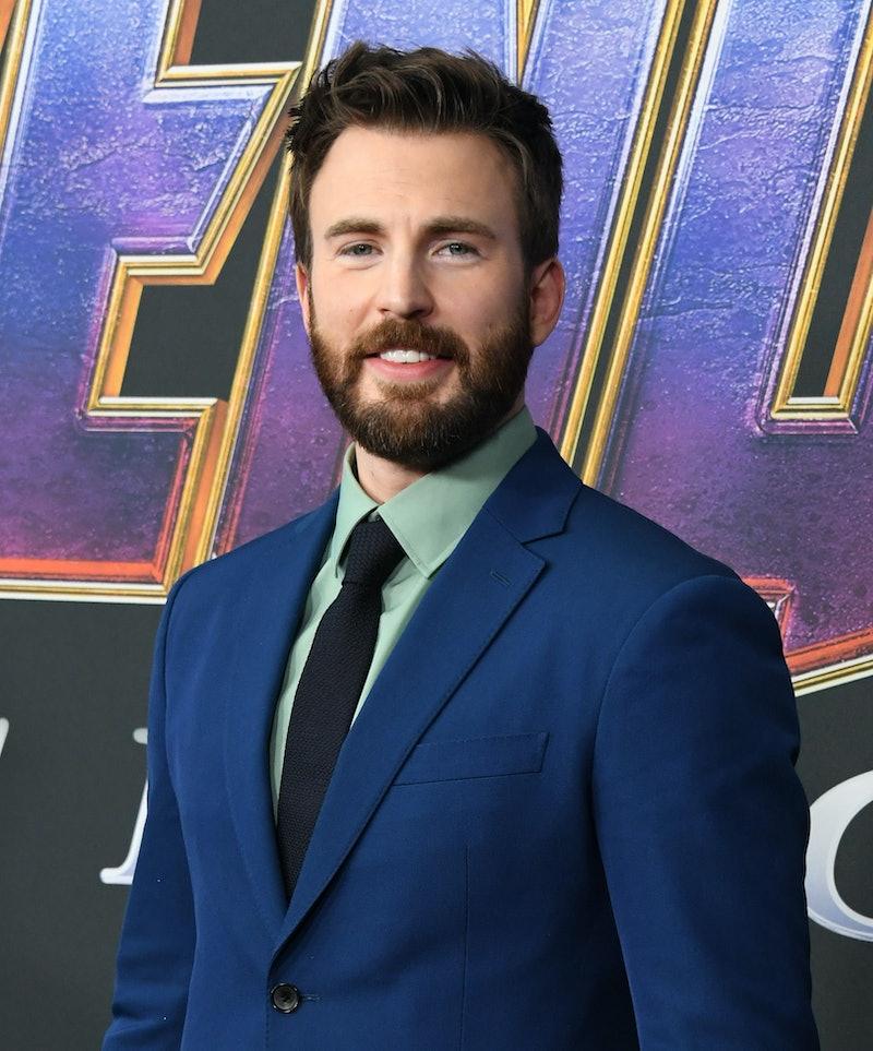 LOS ANGELES, CALIFORNIA - APRIL 22:  Chris Evans attends the World Premiere Of Walt Disney Studios M...