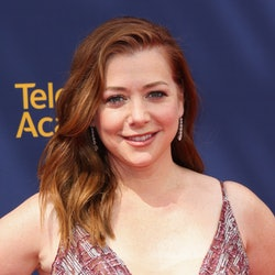LOS ANGELES, CA - SEPTEMBER 08:  Actress Alyson Hannigan attends the 2018 Creative Arts Emmy Awards ...