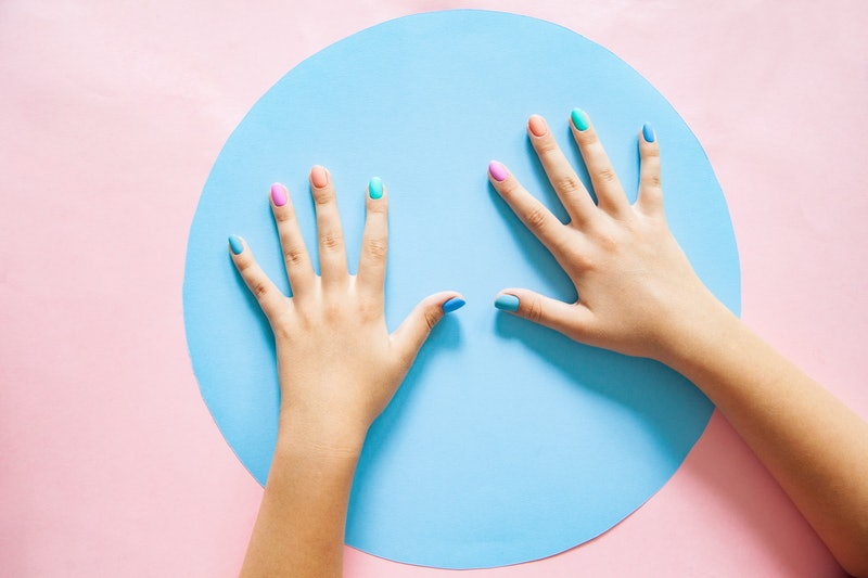 These 15 pastel manicures are great spring nail inspiration.