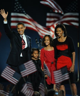 Michelle Obama is the mom to two daughters.