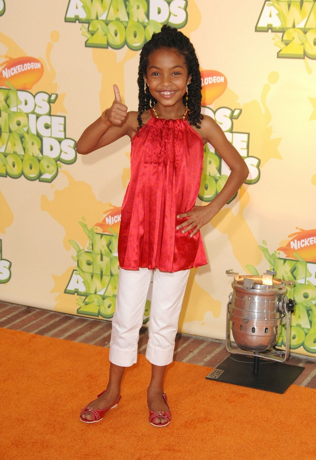 Yara Shahidi at the 2009 Kids' Choice Awards
