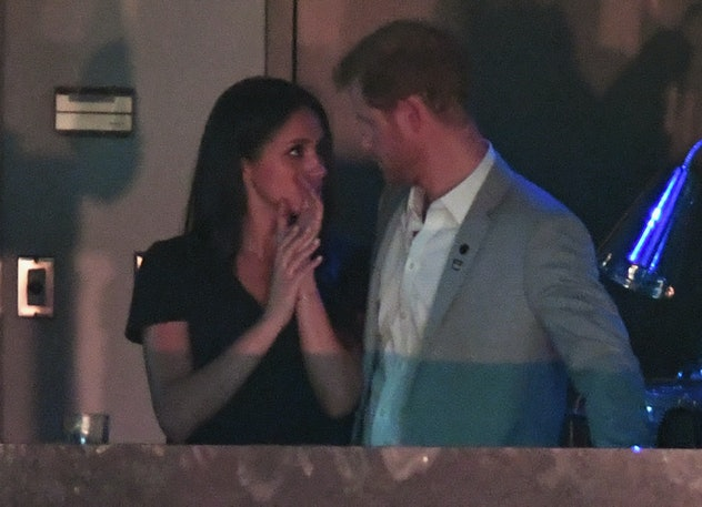 Prince Harry and Meghan Markle at Invictus Games in 2017