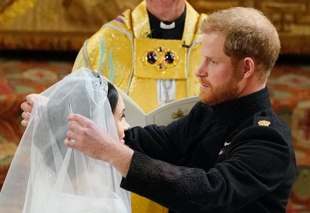 Prince Harry and Meghan Markle's wedding 2018.