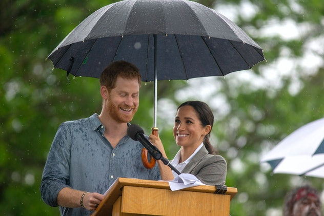 Meghan Markle and Prince Harry in Australia, 2018.