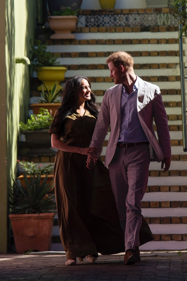Prince Harry and Meghan Markle in South Africa in 2019.