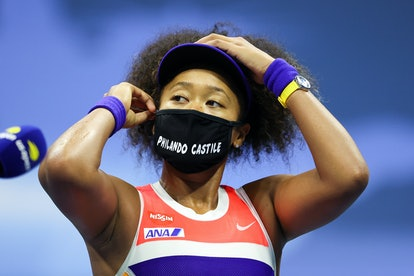 Naomi Osaka wore a Philando Castile face mask to spread awareness about police brutality.