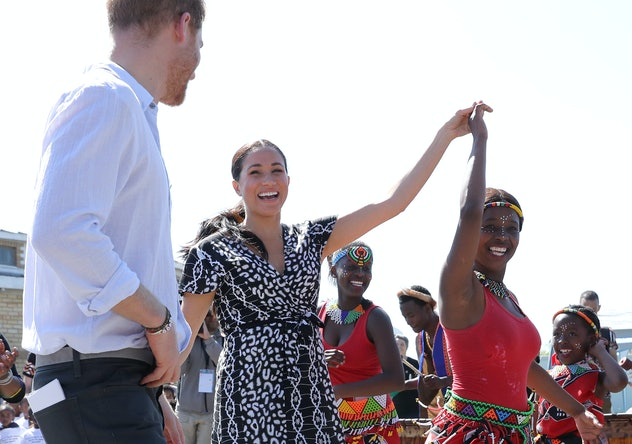 Prince Harry and Meghan Markle October 2019.