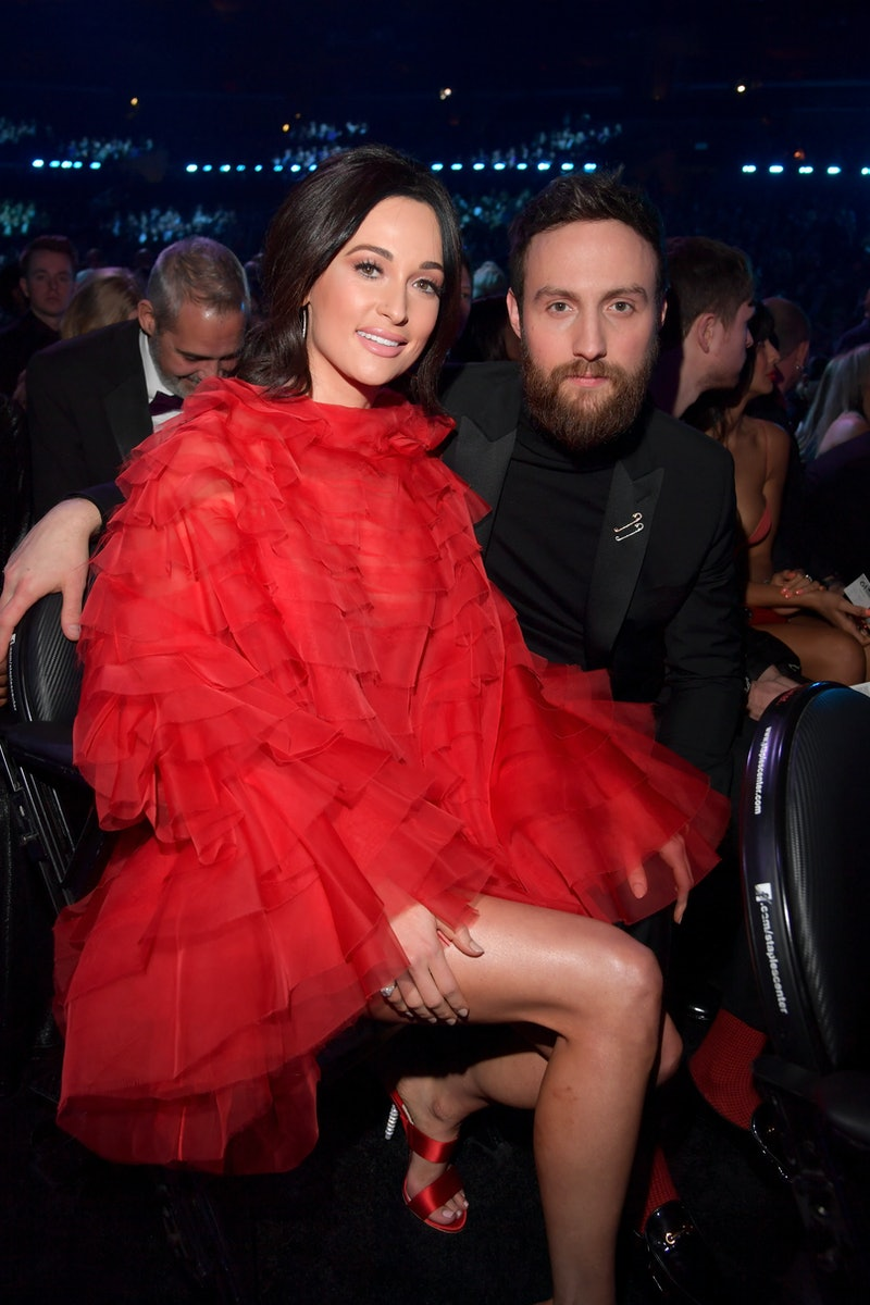 Kacey Musgraves and Ruston Kelly at the 2019 Grammys. Photo via Getty Images