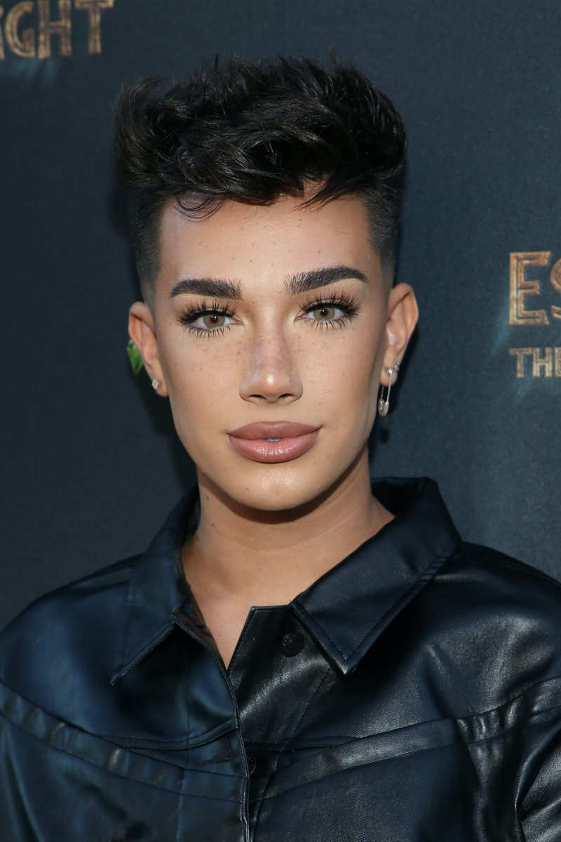 James Charles is bald. Photo via Getty Images
