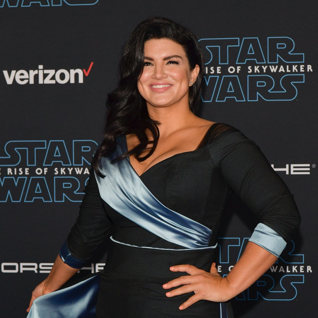 "Gina Carano was dropped from 'The Mandalorian' following her ""abhorrent and unacceptable"" social media posts"