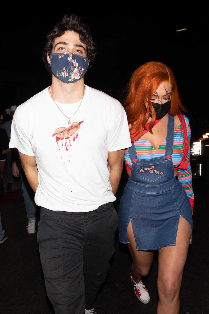 Noah Centineo & Kylie Jenner's friend Stassie. Photo via Getty Images