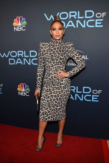 Jennifer Lopez wearing Sergio Hudson May 2018