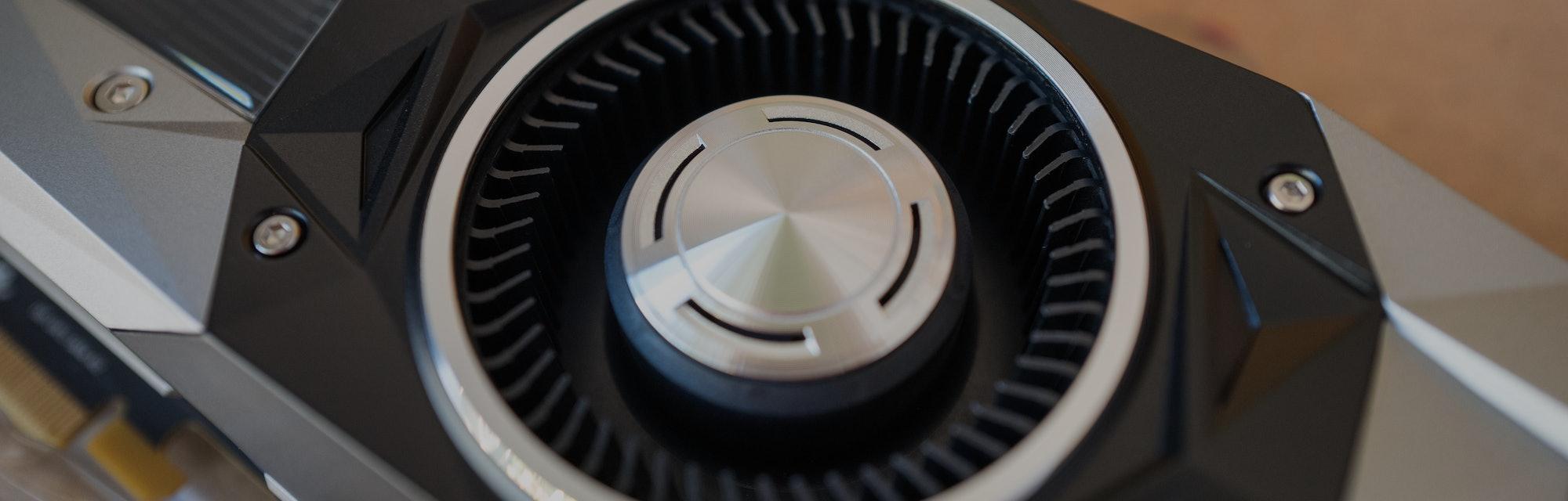 Nvidia graphics processing unit.