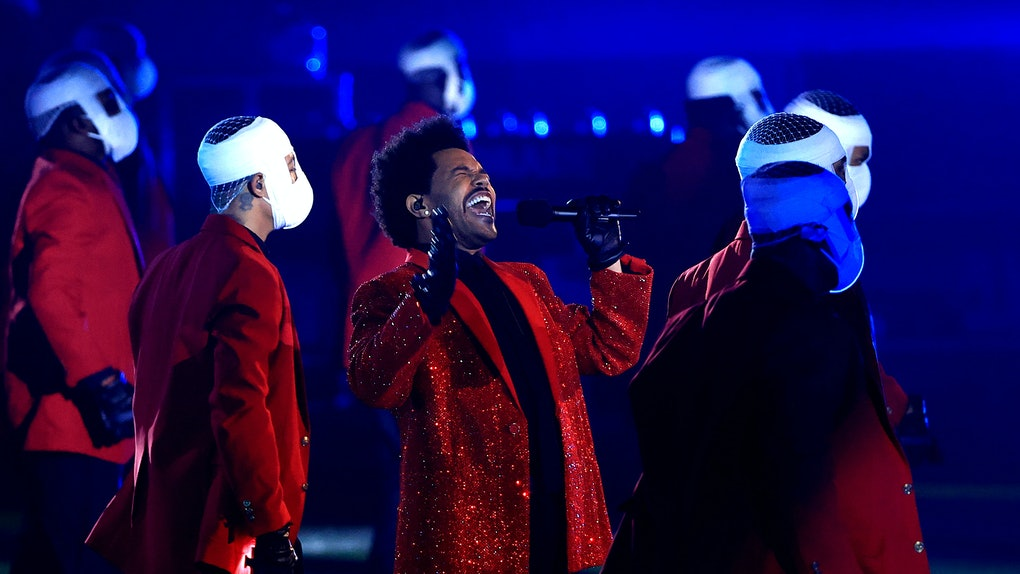 Showtime's documentary about The Weeknd's Super Bowl halftime show is a behind-the-scenes look.