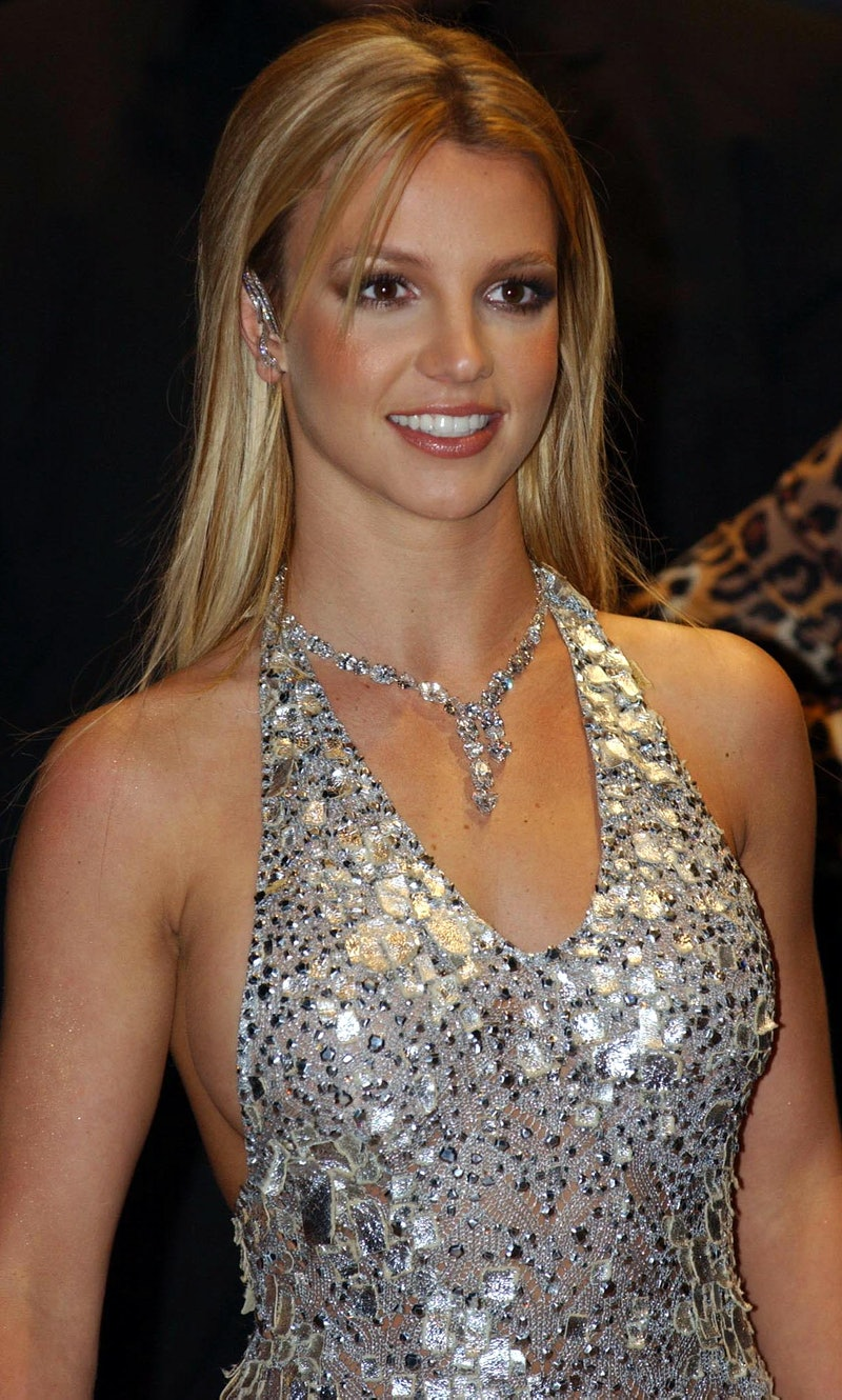 Britney Spears at the premiere of 'Crossroads' in 2002. Photo via Getty Images