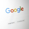 Google search page.