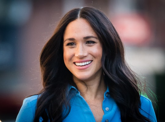 Meghan Markle wore a dress from her first pregnancy to celebrate her second.