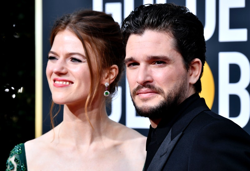 Kit Harington and Rose Leslie welcome baby boy. Photo via Getty Images
