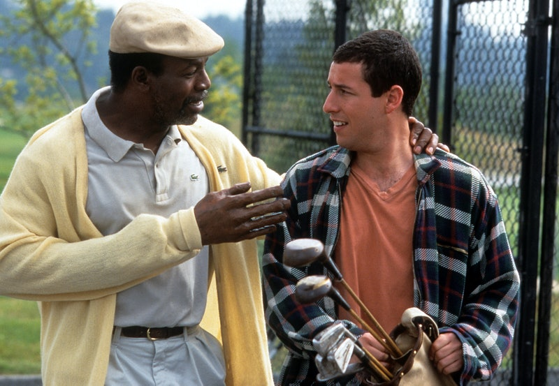 Carl Weathers and Adam Sandler in 'Happy Gilmore.' Photo via Getty Images