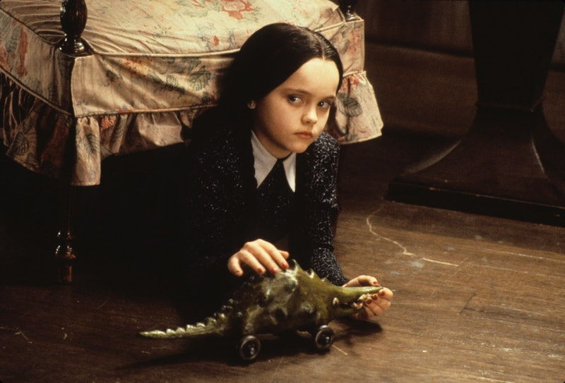 Christina Ricci as Wednesday Addams in 1991's 'The Addams Family.' Photo via Getty Images