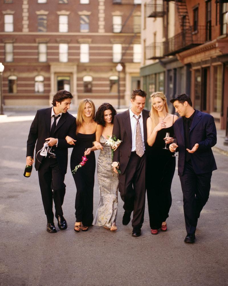 Friends cast. Photo via Getty Images