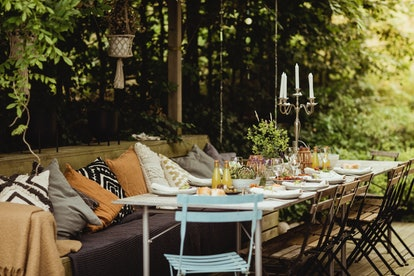 The 2021 Outdoor Furniture Trends You're Going To See On Every Balcony, Patio, & Porch
