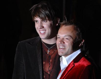 Tina Burner (Kristian Seeber) and Graham Norton