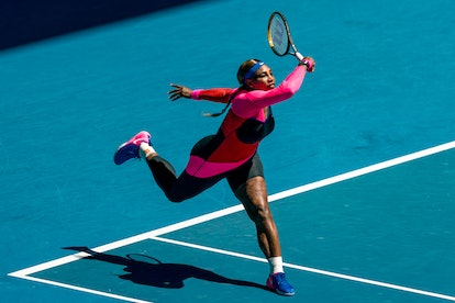 Serena Williams' Australian Open Catsuit Paid Homage To Flo Jo