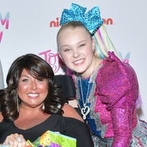 Abby Lee Miller and JoJo Siwa at Siwa's 16th birthday party. Photo via Getty Images