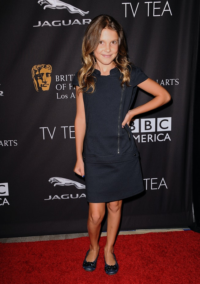 Millie Bobby Brown at the BAFTA Los Angeles TV Tea party in 2014