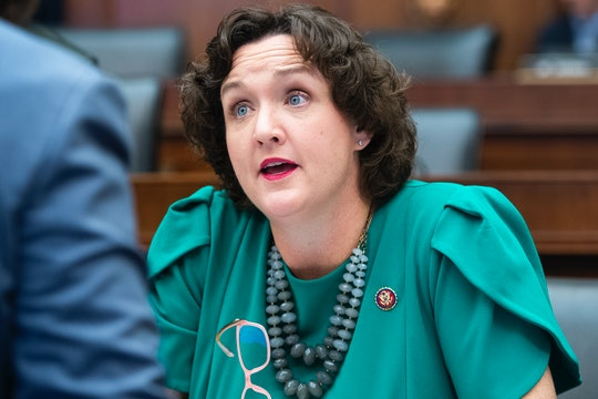 Representative Katie Porter of California discusses Alexandria Ocasio-Cortez seeking shelter in Porter's office during the January 6 attack on the Capitol.