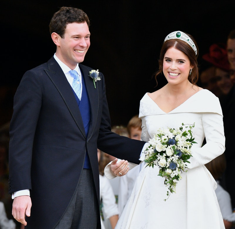 Princess Eugenie and husband Jack Brooksbank at their wedding in 2018.