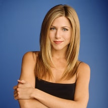Jennifer Aniston as Rachel Green on 'Friends.' Photo via Getty Images