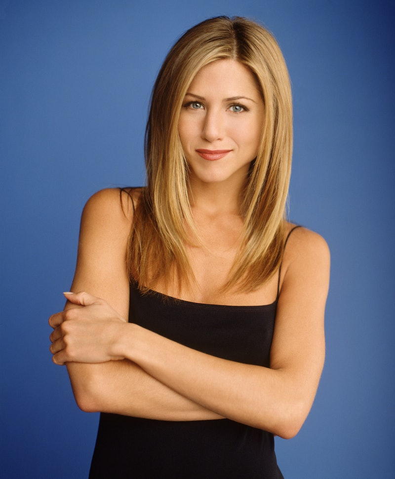 Jennifer Aniston as Rachel Green on 'Friends.' Photo via Getty Images